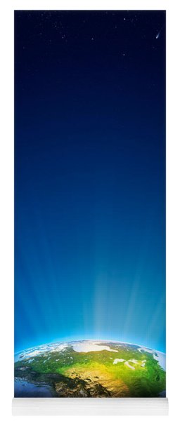 Earth Radiant Light Series - North America Yoga Mat