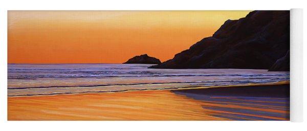 Earth Sunrise Sea Yoga Mat