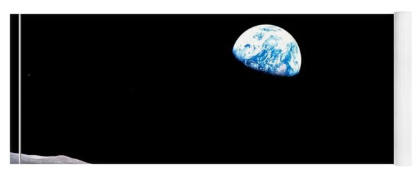 Earthrise Nasa Yoga Mat