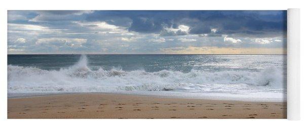 Earth's Layers - Jersey Shore Yoga Mat