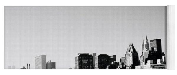 East River New York Yoga Mat