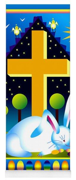 Easter Card Yoga Mat