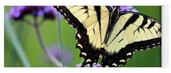 Eastern Tiger Swallowtail Butterfly 2014 Yoga Mat