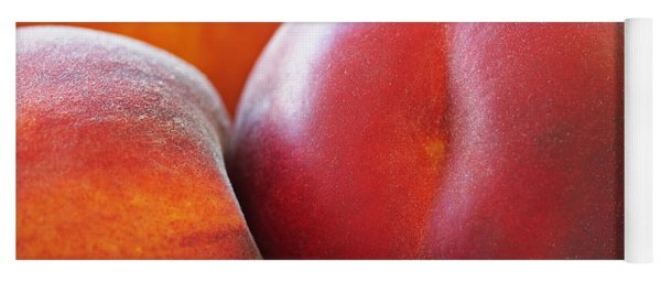 Eat A Peach Yoga Mat