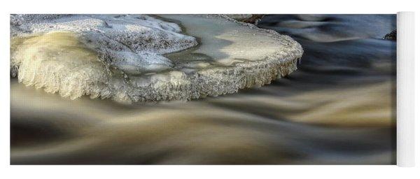 Eau Claire Dells Park River Ice Yoga Mat