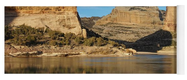 Echo Park In Dinosaur National Monument Yoga Mat