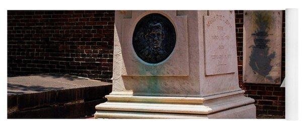 Edgar Allan Poe Tomb Yoga Mat