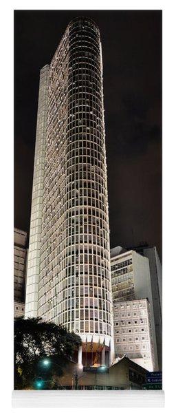 Edificio Italia By Night Yoga Mat