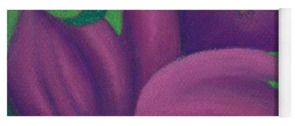 Eggplants Yoga Mat