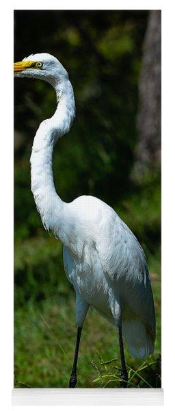 Egret - Full Length Yoga Mat