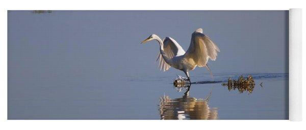 Egret Reflections Yoga Mat