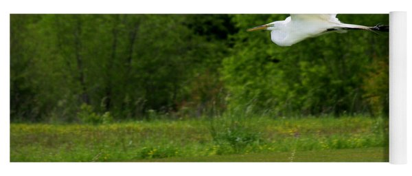 Egret's Flight Yoga Mat