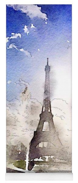 Eiffel During Summer Yoga Mat