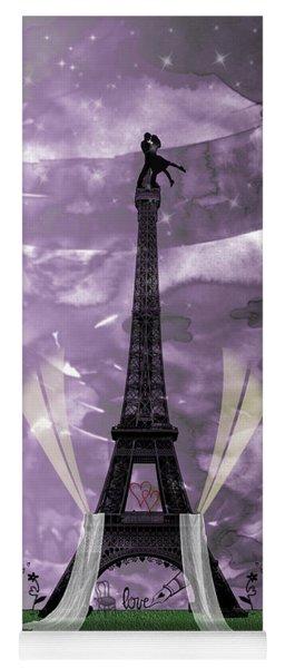 Eiffel Tower - Paris - Love Yoga Mat