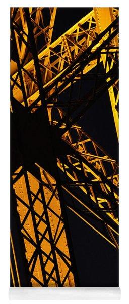 Eiffel Tower Detail Yoga Mat