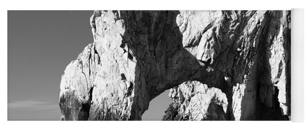 El Arco In Black And White Yoga Mat