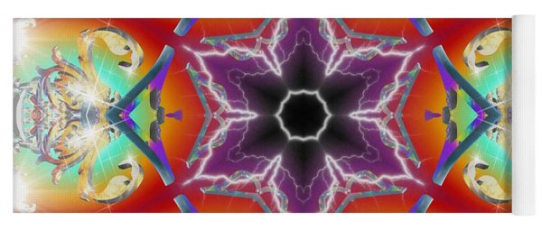 Electric Enlightenment Yoga Mat