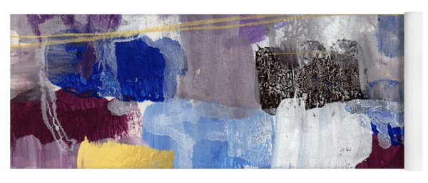 Elemental- Abstract Expressionist Painting Yoga Mat