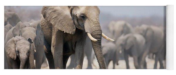 Elephant Feet Yoga Mat