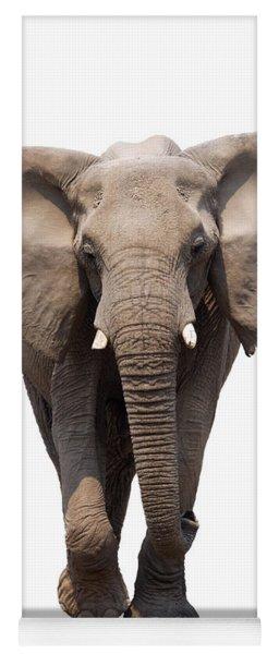 Elephant Isolated Yoga Mat