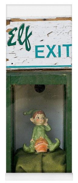elf exit, Dubuque, Iowa Yoga Mat