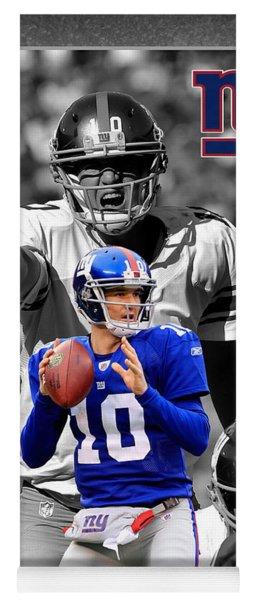 Eli Manning Giants Yoga Mat