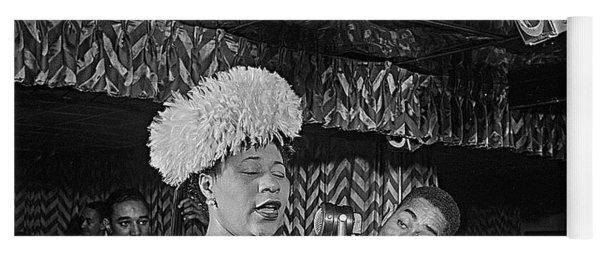 Ella Fitzgerald And Dizzy Gillespie William Gottleib Photo Unknown Location September 1947-2014. Yoga Mat