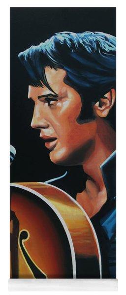 Elvis Presley 3 Painting Yoga Mat