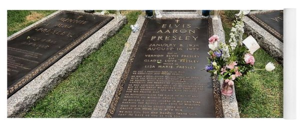 Elvis Presley Laid To Rest Yoga Mat