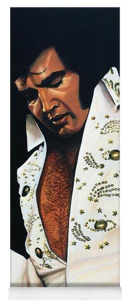 Elvis Presley Painting Yoga Mat