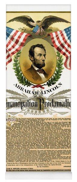Emancipation Proclamation Tribute 1888 Yoga Mat