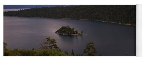 Emerald Bay Lake Tahoe Yoga Mat