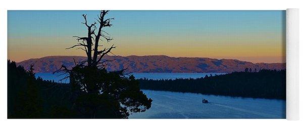 Emerald Bay Sunset Yoga Mat