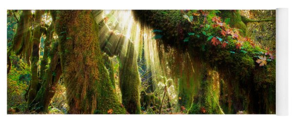 Enchanted Forest Yoga Mat