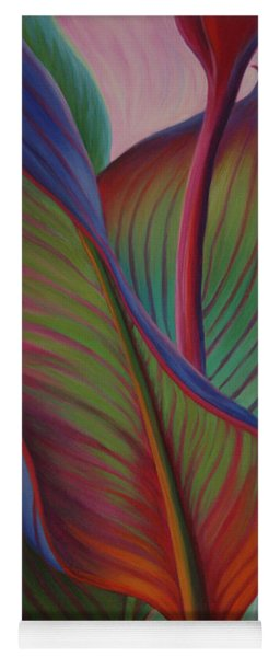 Yoga Mat featuring the painting Encore by Sandi Whetzel