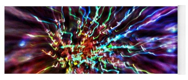 Energy 2 - Abstract Yoga Mat