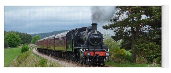 Engine 46512 Strathspey Railway Yoga Mat