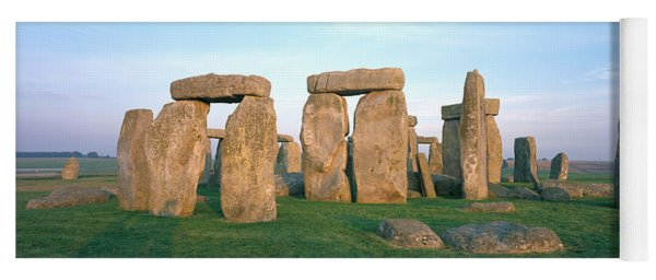 England, Wiltshire, Stonehenge Yoga Mat