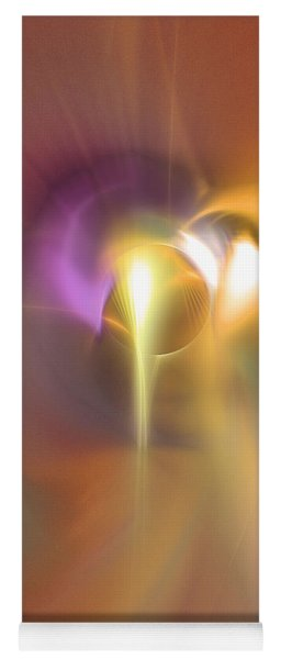 Enlightened - Abstract Art Yoga Mat