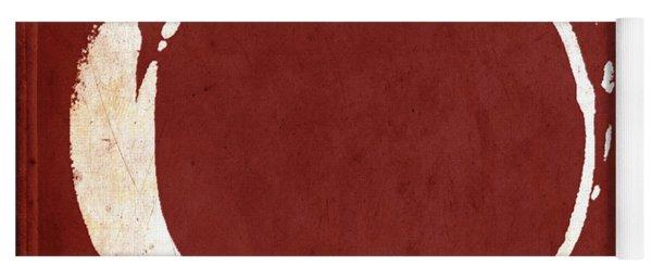 Enso No. 107 Red Yoga Mat