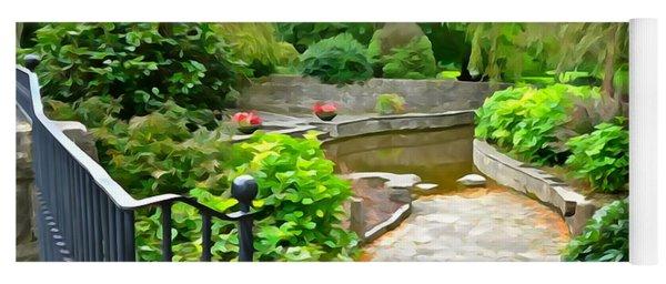 Enter The Garden Yoga Mat
