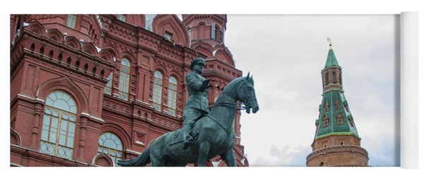 Entry To Red Square - Moscow Russia Yoga Mat