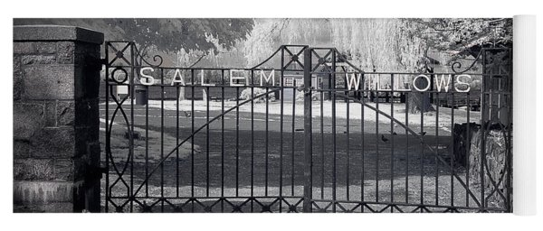 Entry To Salem Willows Yoga Mat