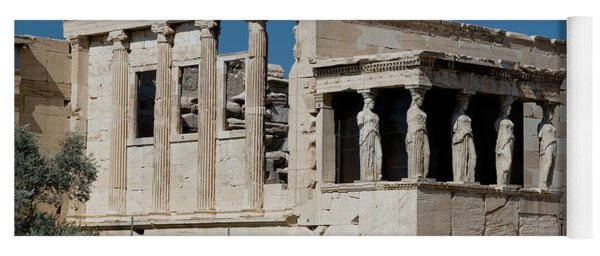 Erechtheion With The Porch Of Maidens Yoga Mat