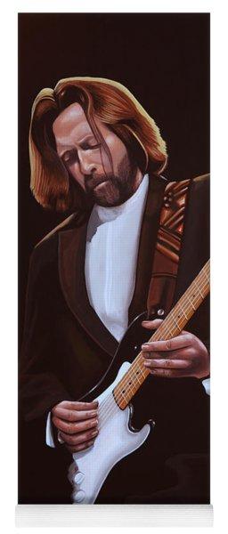 Eric Clapton Painting Yoga Mat