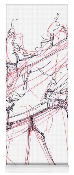 Erotic Art Drawings 6 Yoga Mat