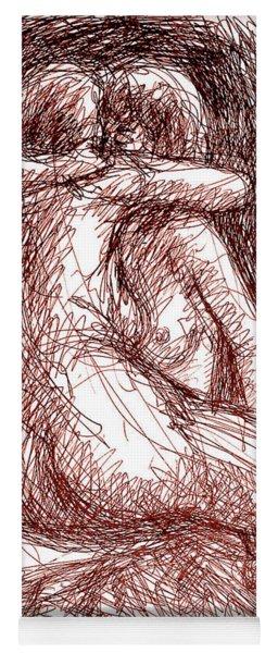 Erotic Drawings 19-2 Yoga Mat