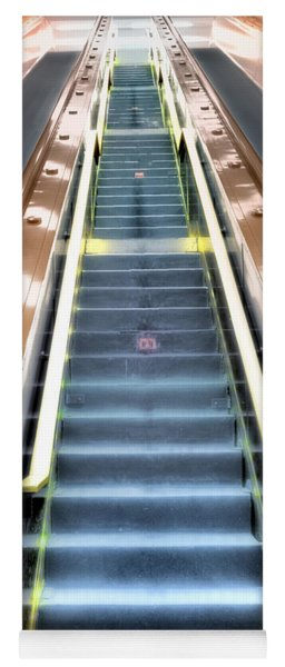 Escalator To Heaven Yoga Mat
