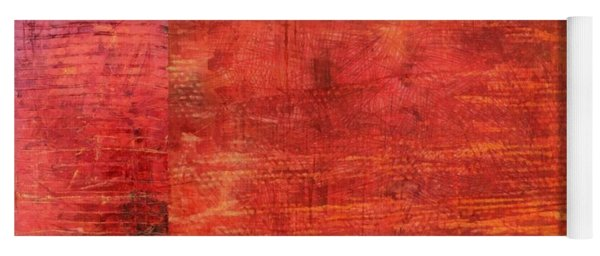 Essence Of Red Yoga Mat