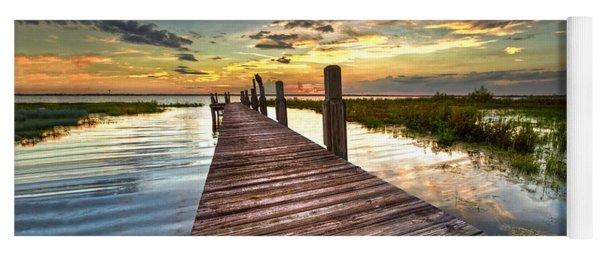 Evening Dock Yoga Mat